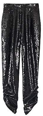 Tibi Women's Sequined Lounge Pants - Size 0