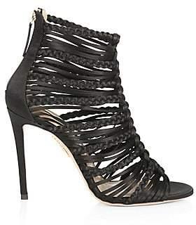 Aquazzura Women's Goddess Strappy Sandals