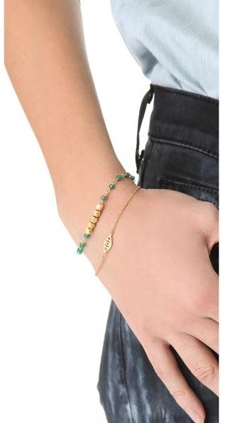 Jennifer Zeuner Jewelry Mini Integrated Eye Bracelet