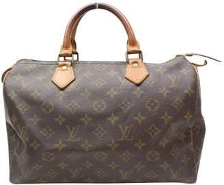 Louis Vuitton Speedy cloth handbag