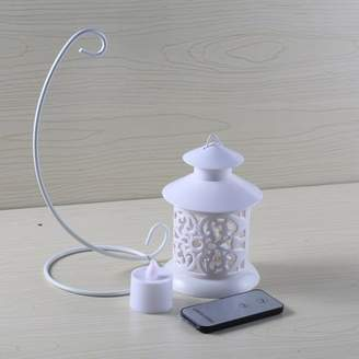Bordagt Timer LED Flameless Candles By Festival Delights Premium IC controlled LED electronic candle