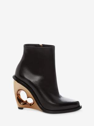 Alexander McQueen Sculpted Wedge Boot