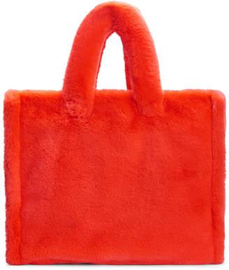 Stand Studio Lola Large Faux Fur Tote Bag