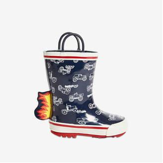 Joe Fresh Toddler Boys' Rain Boots, Navy (Size 6)
