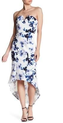 Lumier Believe Me Strapless Midi Dress