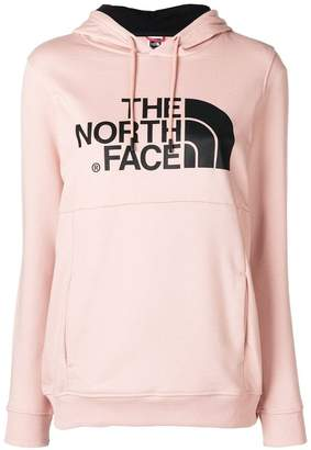 The North Face logo fitted hoodie