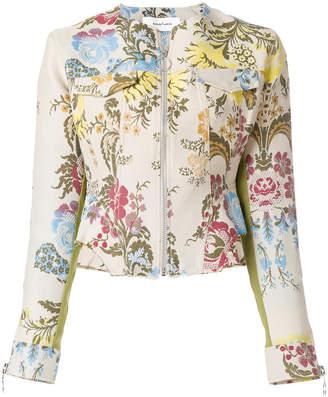 Marques Almeida Marques'almeida floral jacquard jacket