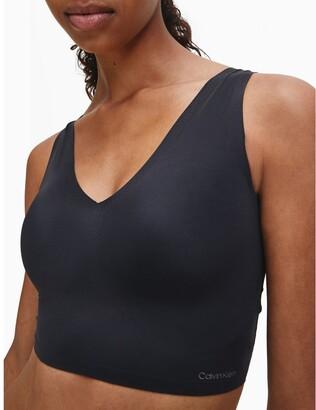 Calvin Klein invisibles lightly lined v-neck bralette