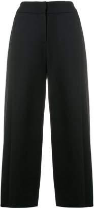 Emporio Armani cropped high-rise culottes