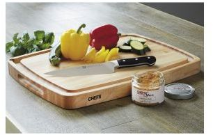 """Chefs 20"""" Cutting Board with Juice Well"""