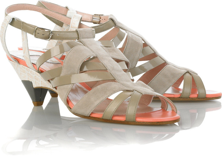 Chloé Multi strap sandals
