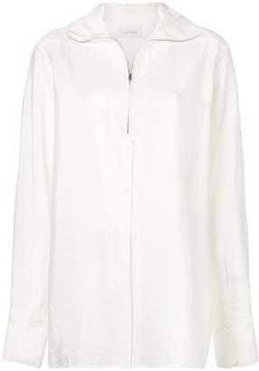 Lemaire high collar shirt