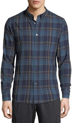 Slate & Stone Men's Casual Plaid Button-Down Shirt