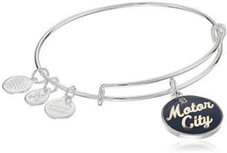 Alex and Ani Motor City Expandable Rafaelian Silver-Tone Bangle Bracelet