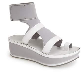 Max Studio 'Quince' Wedge Platform Ankle Strap Sandal (Women)