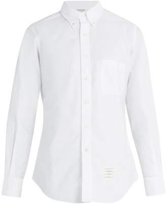 Thom Browne Button-down collar cotton shirt