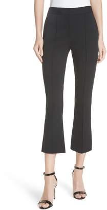 Diane von Furstenberg Midrise Crop Bootcut Pants