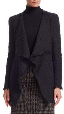 Akris Punto Open Front Tweed Jacket