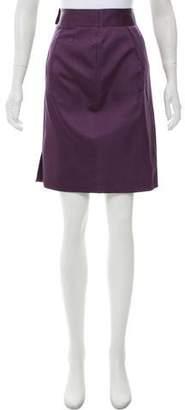 Tory Burch Silk Pencil Skirt