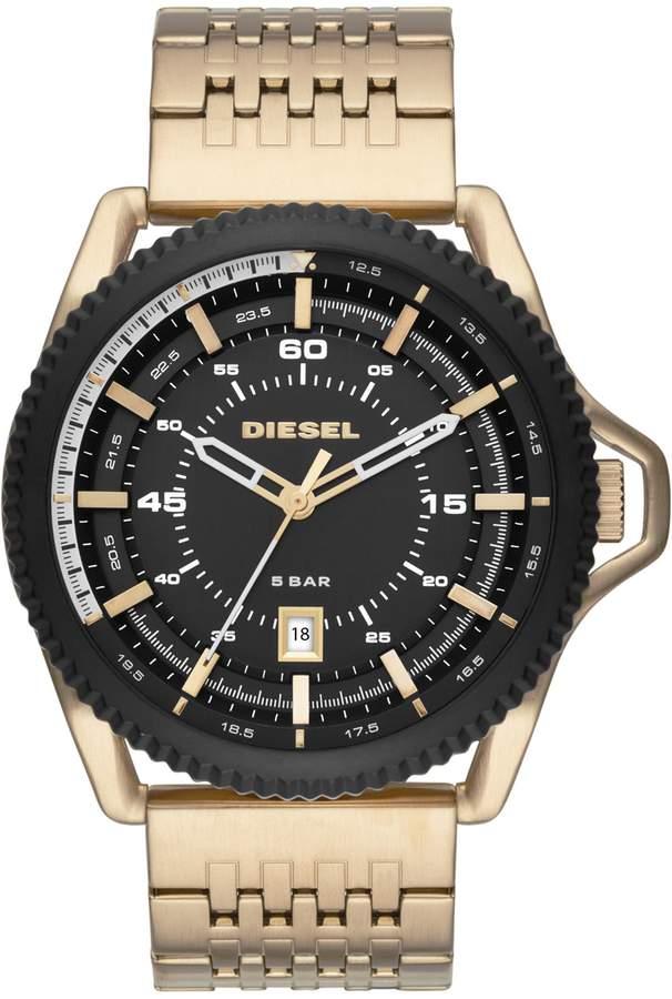 diesel gold watches jewellery for men shopstyle diesel wrist watches item 58033650