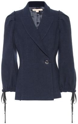 Brock Collection Pandolfi wool and linen jacket