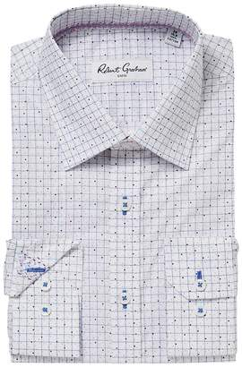 Robert Graham Werp Dress Shirt Men's Long Sleeve Button Up