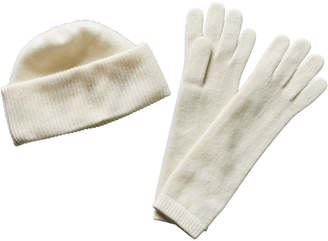 Portolano Cashmere Hat & Gloves Set