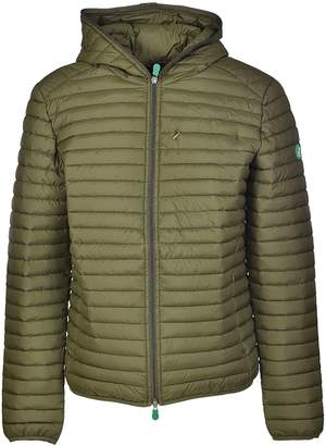 Save The Duck Recy Sleeve Patch Padded Jacket