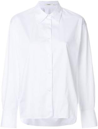 Lareida side slit shirt