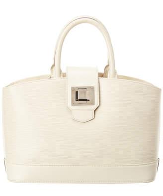 Louis Vuitton White Epi Leather Mirabeau Pm