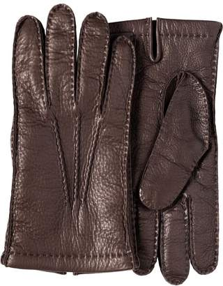 Prada stitch-detail gloves
