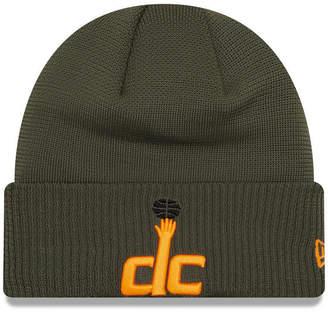 New Era Washington Wizards Tip Pop Cuffed Knit Hat