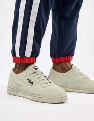 Fila Original Fitness Premium Trainer In Grey