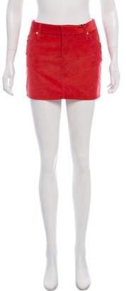 DSQUARED2 Corduroy Mini Skirt w/ Tags
