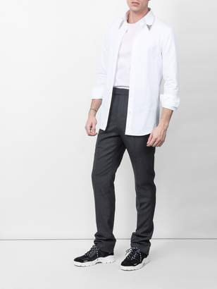 Calvin Klein Arrow lapel shirt