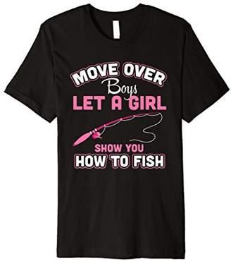 Fishing Shirt How To Fish Funny Tees Women Girl Fisher Gifts
