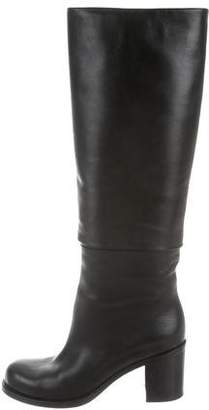 Chanel CC Fold-Over Boots