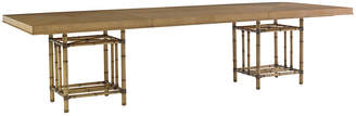 Tommy Bahama Caneel Bay Dining Table - Warm Umber
