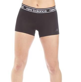 New Balance Womens Accelerate Running Hot Shorts Black