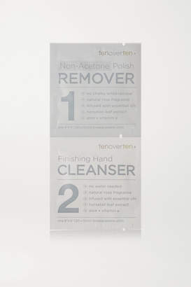 TenOverTen - Non-acetone Polish Remover Finishing Hand Cleanser Cloths - Colorless