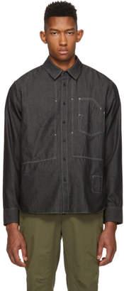 Rag & Bone Black Chambray Chore Shirt