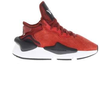 Y-3 Y 3 Y_3 Kaiwa Suede Orange Sneakers