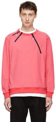 99% Is Pink 3 Zip Sweatshirt
