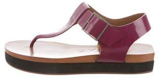 Rochas Platform Thong Sandals w/ Tags