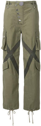 Alexander Wang multi pocket cargo trousers