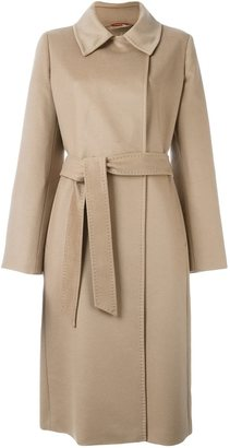 Max Mara Studio belted trench coat $624.77 thestylecure.com