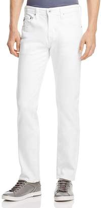 AG Jeans Matchbox Slim Fit Jeans in White