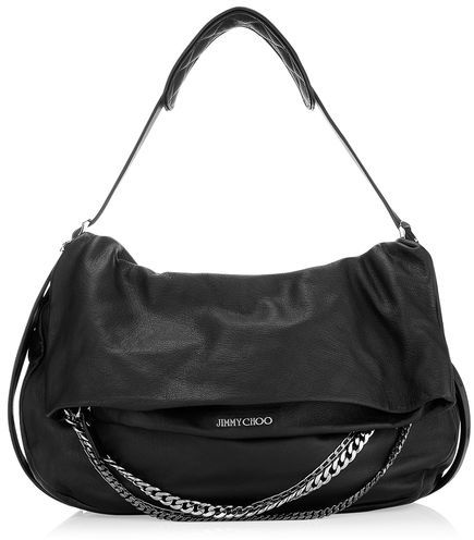 Jimmy Choo Biker L Biker Leather Shoulder Bag