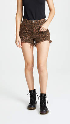 Alexander Wang Denim x Bite Shorts