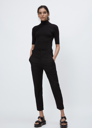 Haider Ackermann yuri black dropped crotch trouser $1,060 thestylecure.com